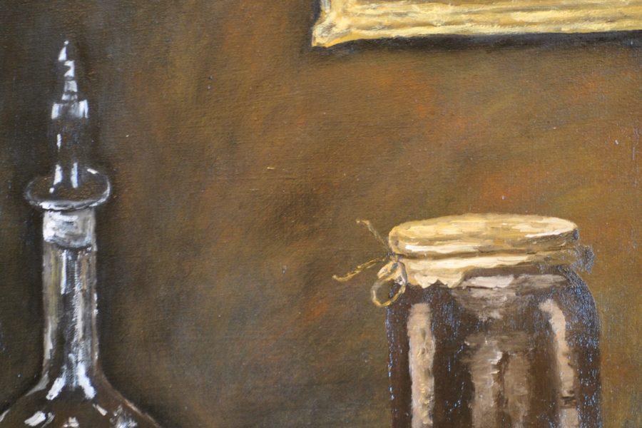 Natura morta- olio su tela- cm 30x40