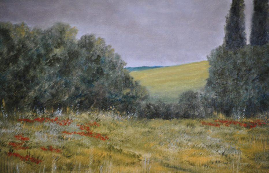 Paesaggio in collina