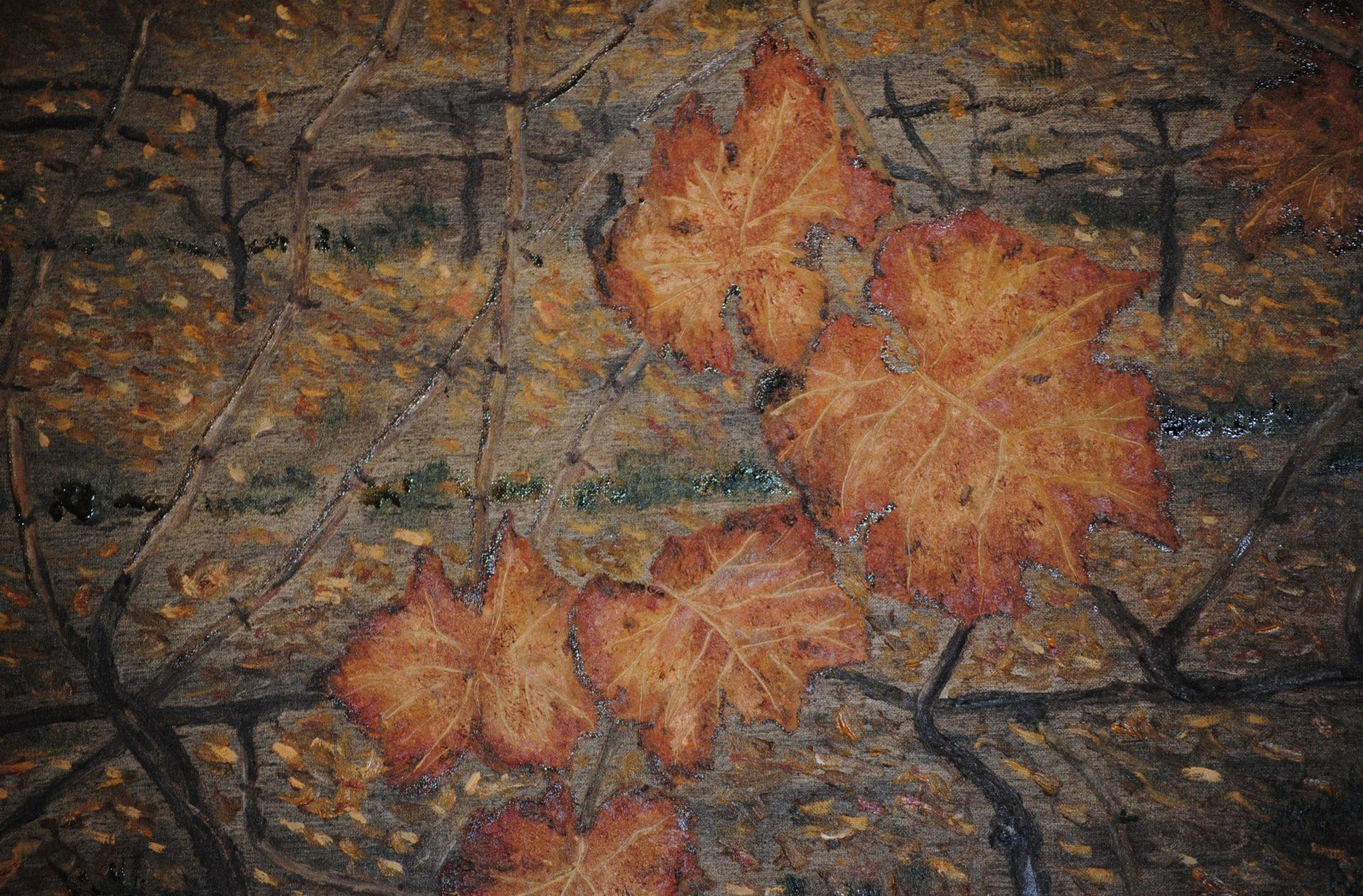 """""""Autunno""""- olio su tela cm 50×40"""