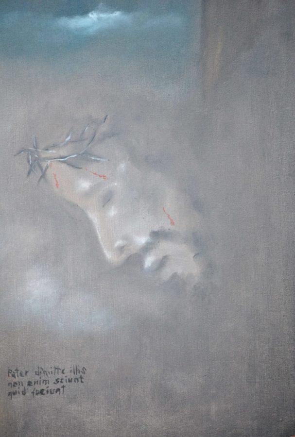 """""""Pater dimitte illis"""" olio su tela cm 30×40"""