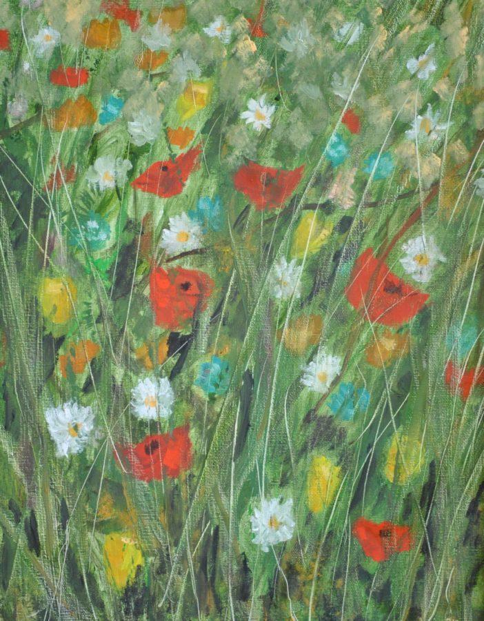 """""""Fleurs"""" – olio su tela cm 35×45"""